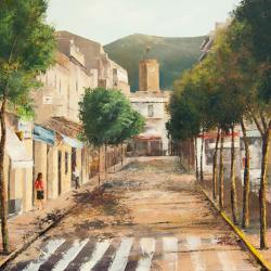 1r premi pintura local 2013 Pere Bernado