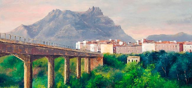 Pere Bernadó, guanyador del 44è Concurs de Pintura Local