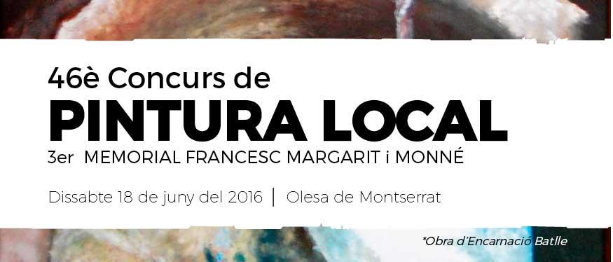 46è Concurs de Pintura Local Olesa de Montserrat 2016