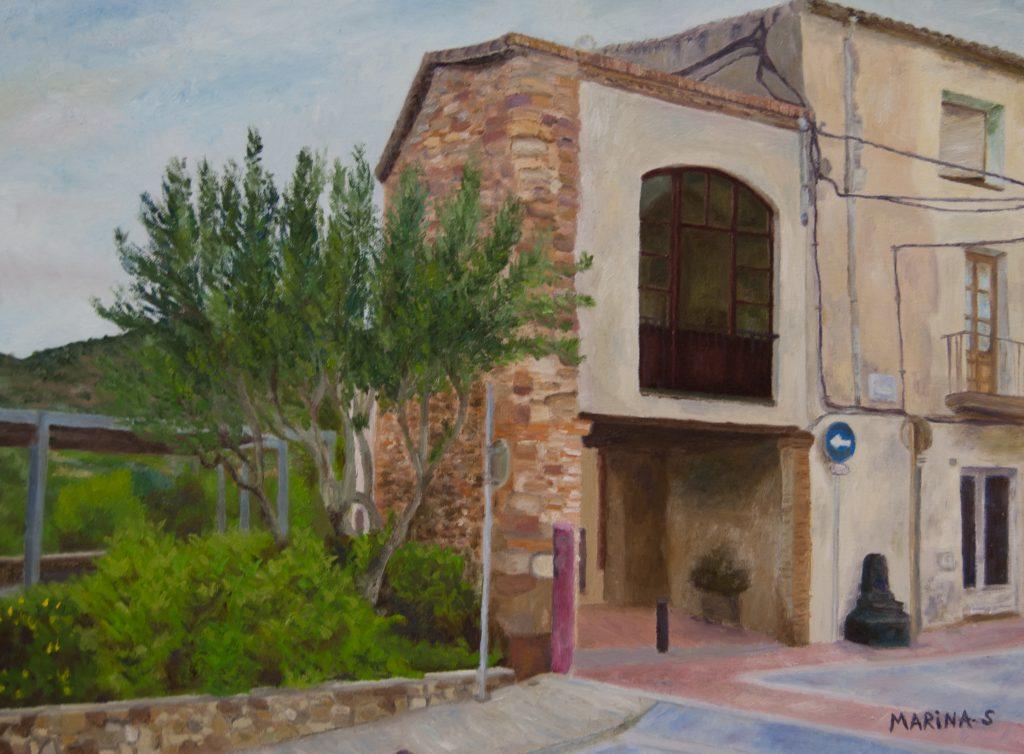1er premi 46è Concurs de Pintura Local - Marina Segura