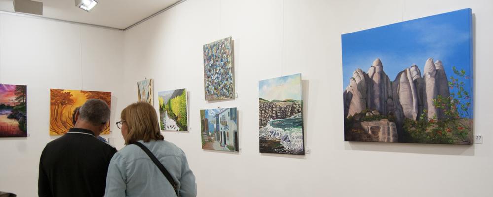 25a Exposició Pintors d'Olesa
