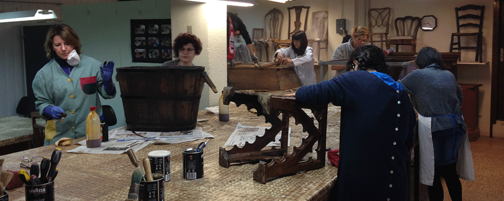4a edició del taller de restauració del moble històric