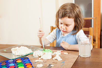 art a casa infantil