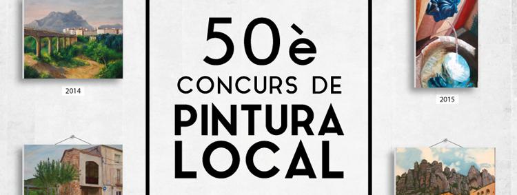 Bases del 50è Concurs de Pintura Local